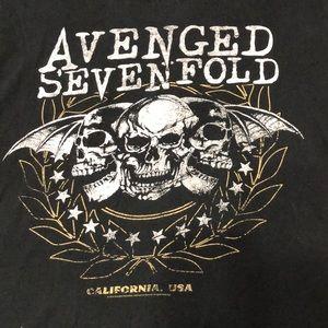 Vintage Avenge sevenfold T-shirt
